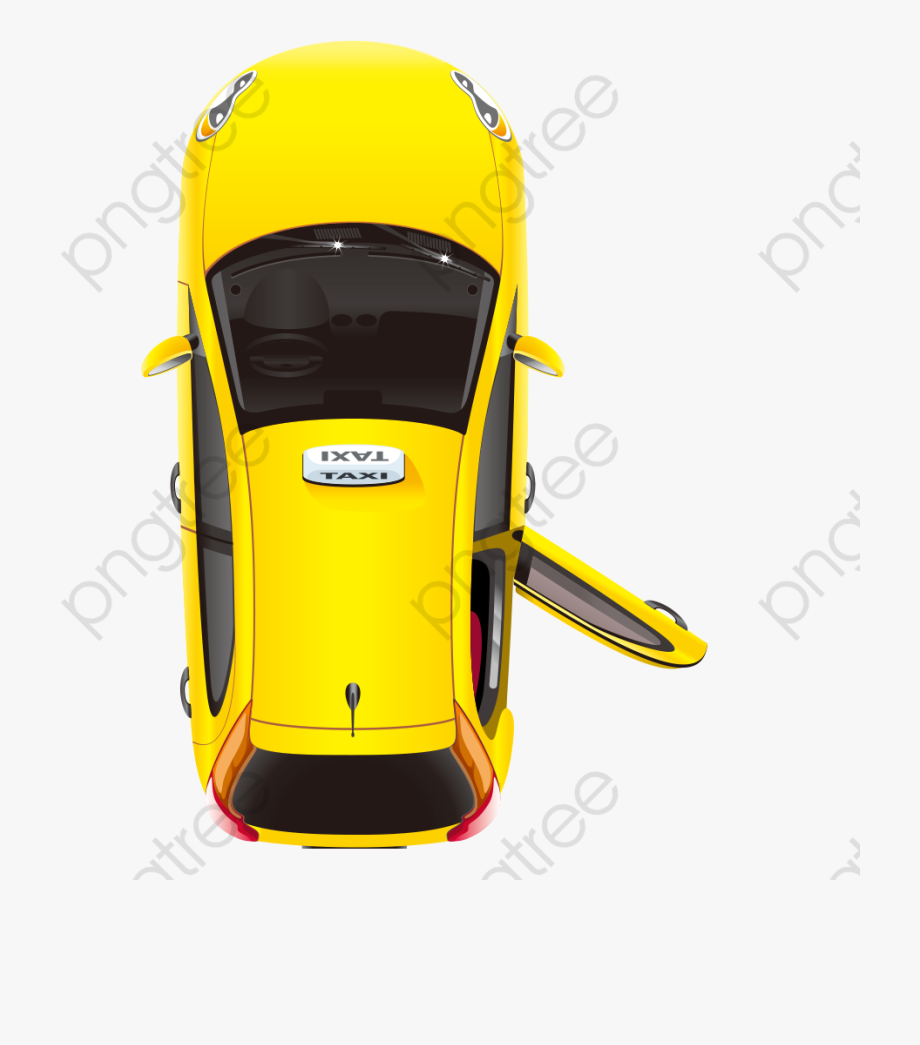 Areal taxi clipart transparent image freeuse Car Plan Png - Taxi Top View Png #193696 - Free Cliparts on ClipartWiki image freeuse