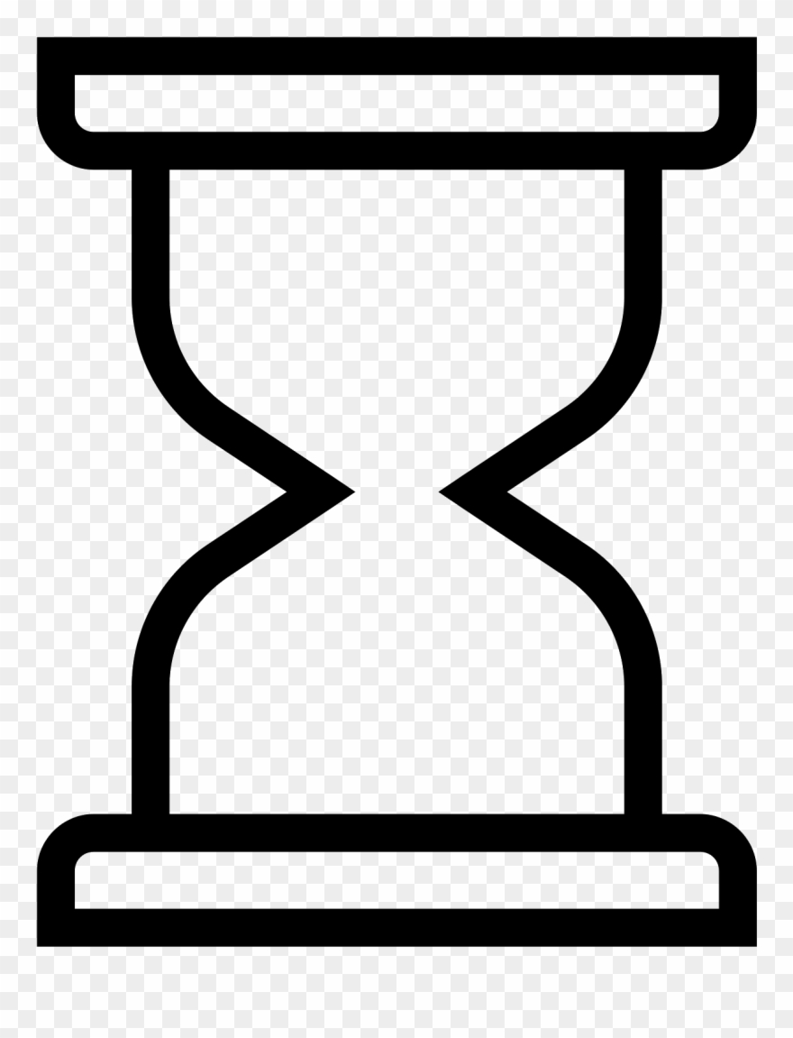 Arena clipart picture Hourglass Clipart Empty - Reloj De Arena Azul Png Transparent Png ... picture