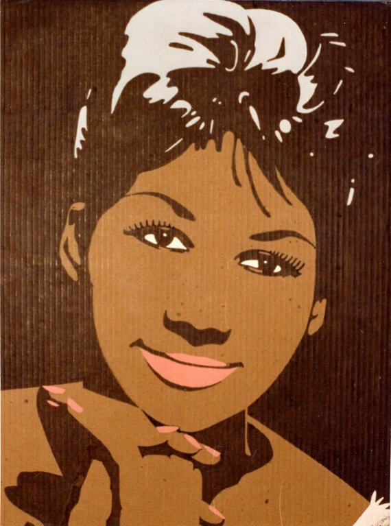 Aretha franklin clipart jpg free download aretha franklin painting | Products in 2019 | Aretha franklin ... jpg free download