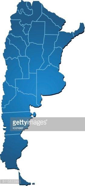 Argentina map clipart image freeuse stock Argentina Map Blue premium clipart - ClipartLogo.com image freeuse stock