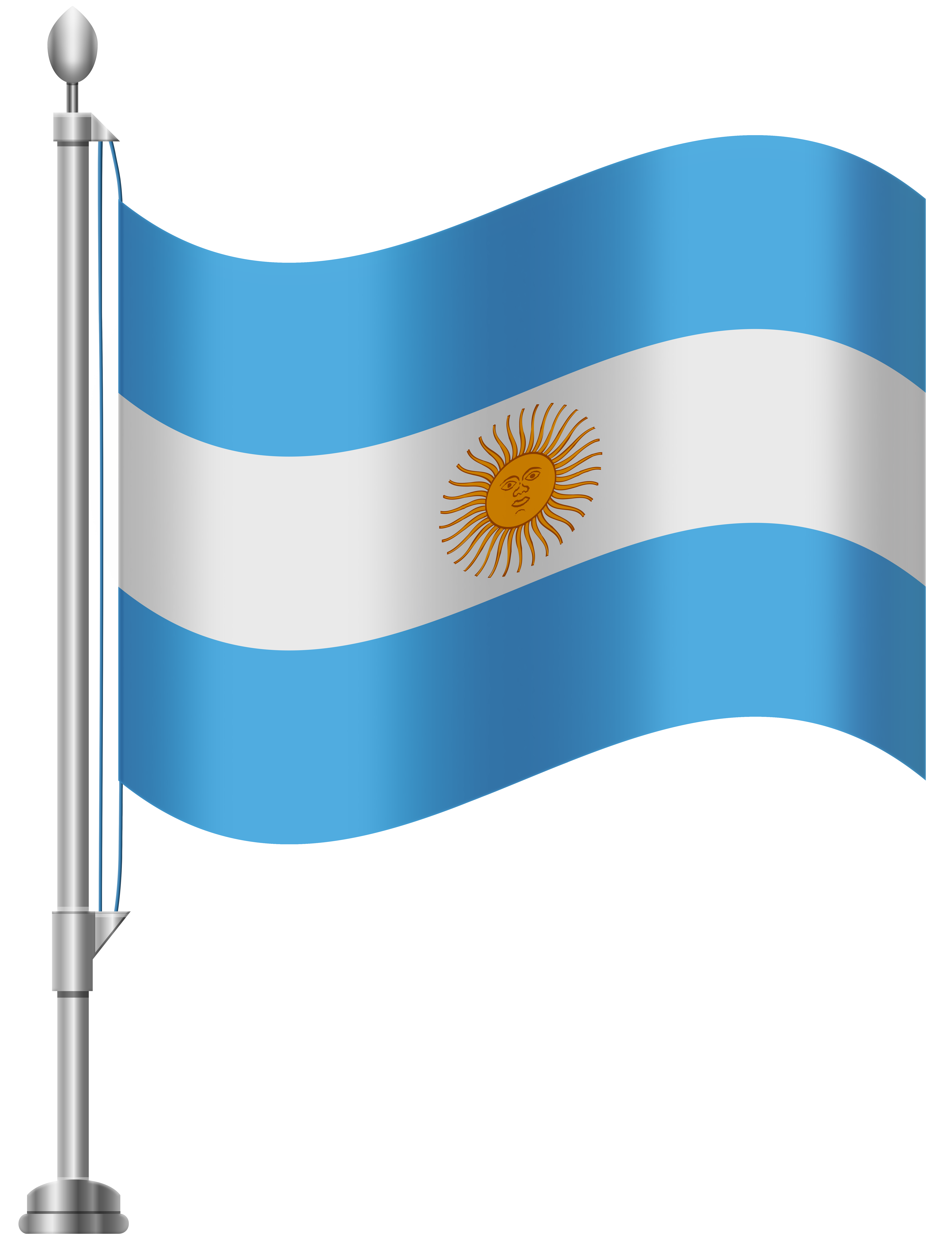 Argentina money clipart graphic royalty free download Argentina Flag PNG Clip Art - Best WEB Clipart graphic royalty free download