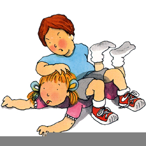 Arguing sibling clipart banner black and white download Brother And Sister Fighting Clipart | Free Images at Clker.com ... banner black and white download