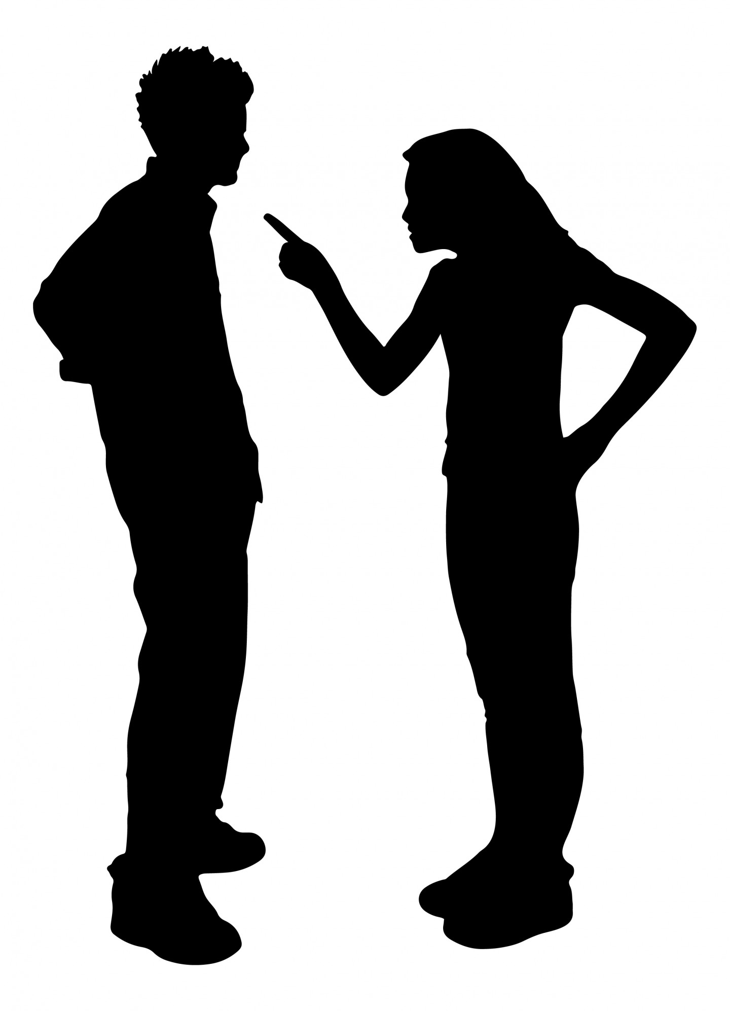Two people arguing clipart clipart transparent download Cartoon People Arguing - Clip Art Library clipart transparent download