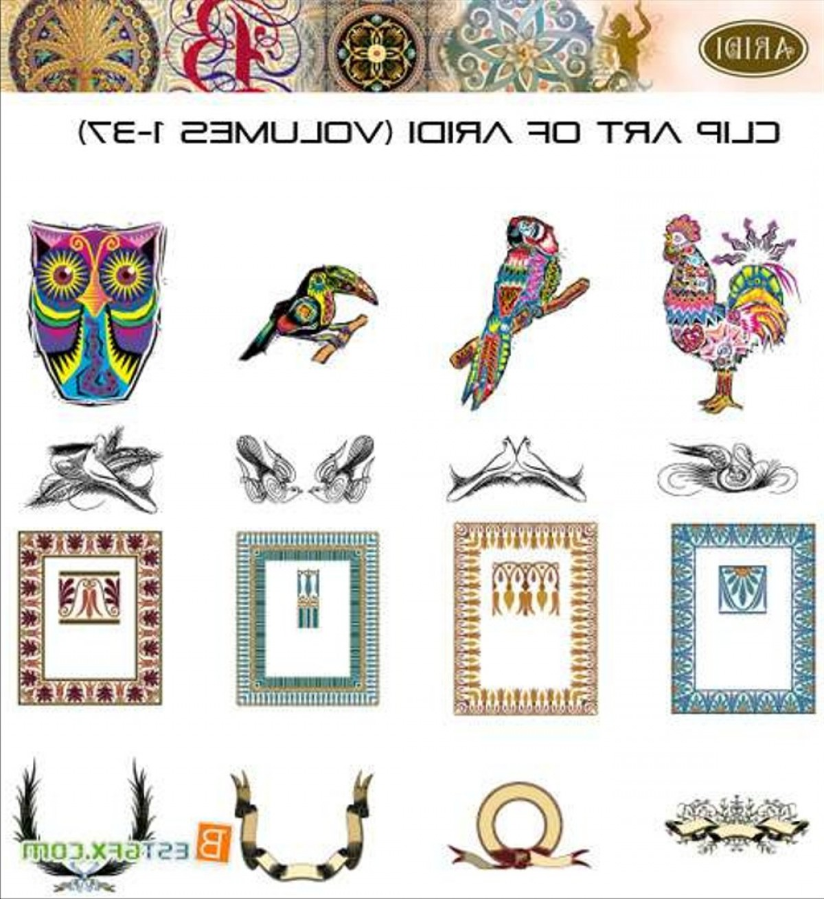 Aridi vector clipart collection free download jpg freeuse download Aridi Vector Clip Art Collection | CQRecords jpg freeuse download