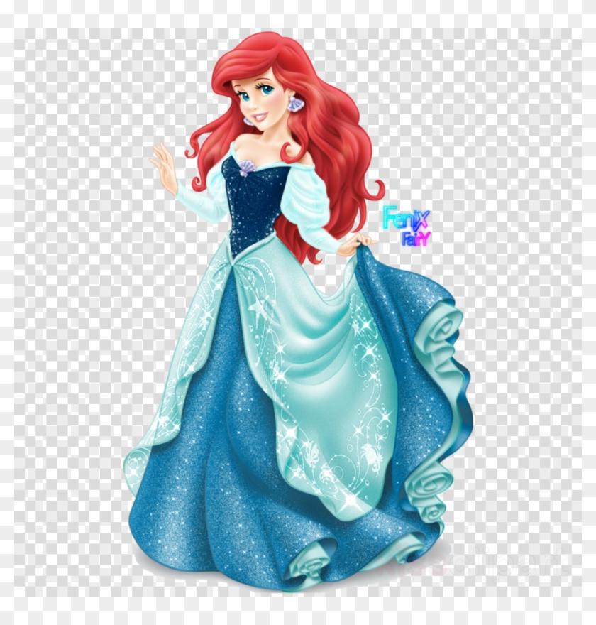 Ariel dress clipart svg free library Ariel Disney Princess Clipart Ariel Belle Princess - Ariel Disney ... svg free library