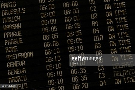 Arival departure screen clipart png stock Display With Schedule of Aircraft Departure premium clipart ... png stock