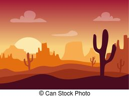 Arizona mountain clipart image library stock Wild west arizona mountain flat design Clipart Vector Graphics. 154 ... image library stock