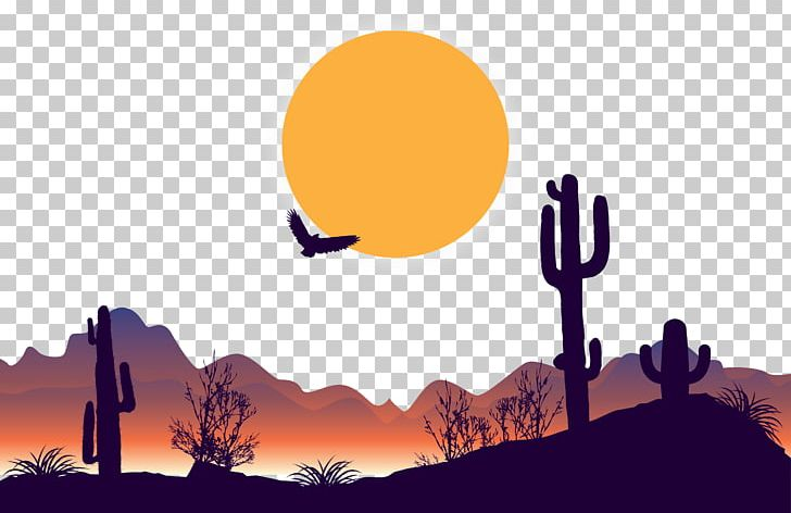 Arizona mountain clipart vector freeuse library Dusk Desert PNG, Clipart, Arizona Desert, Art, Birds, Computer ... vector freeuse library