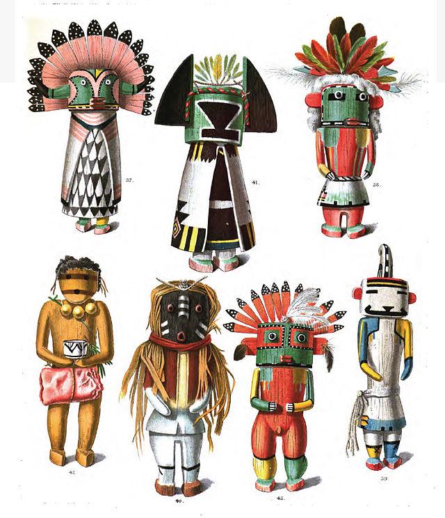 Arizona pueblos clipart svg transparent Kachina - Wikiwand svg transparent