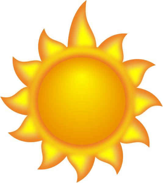 Sun clipart with 22 rays clipart transparent library Sun Rays Clipart | Clipart Panda - Free Clipart Images clipart transparent library