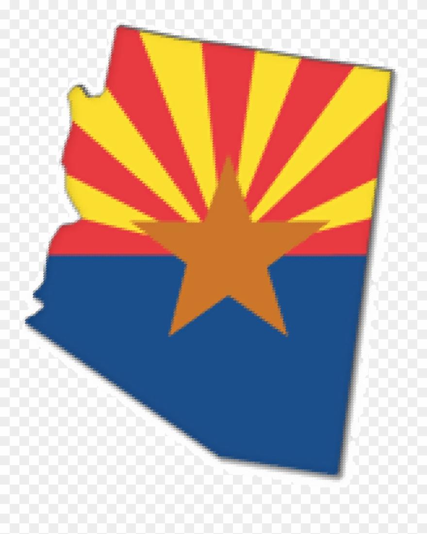 Arizona universiy clipart svg stock Arizona - Clipart - Arizona State Flag - Png Download (#505530 ... svg stock