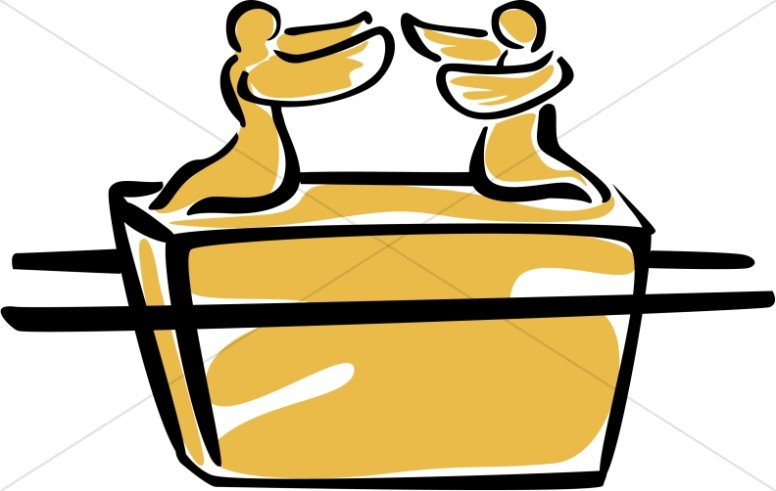 Ark of covenant clipart royalty free stock Simple Ark of the Covenant | Old Testament Clipart royalty free stock