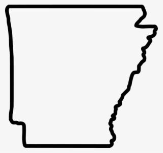 Arkansas outline clipart image black and white Arkansas Outline PNG Images   PNG Cliparts Free Download on SeekPNG image black and white