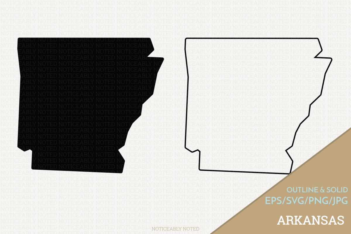 Arkansas outline clipart image free stock Arkansas Vector Clip Art image free stock