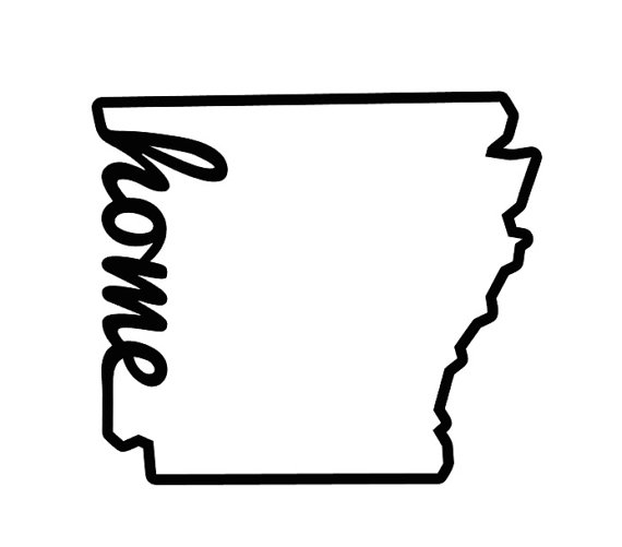 Arkansas outline clipart image stock Home Outline   Free download best Home Outline on ClipArtMag.com image stock