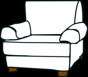 Arm chair clipart graphic White Armchair Clip Art at Clker.com - vector clip art online ... graphic