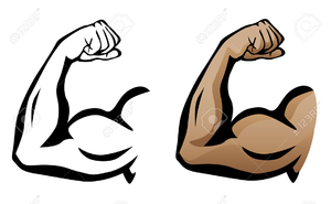Arm clipart free png black and white download Flexing Arm Clipart | Free Images at Clker.com - vector clip art ... png black and white download