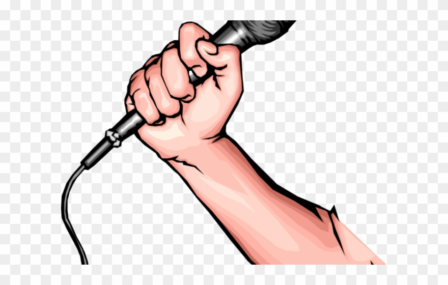 Arm holding hammer clipart graphic library Mic Clipart Hand Holding Microphone - Arm Holding Microphone Png ... graphic library