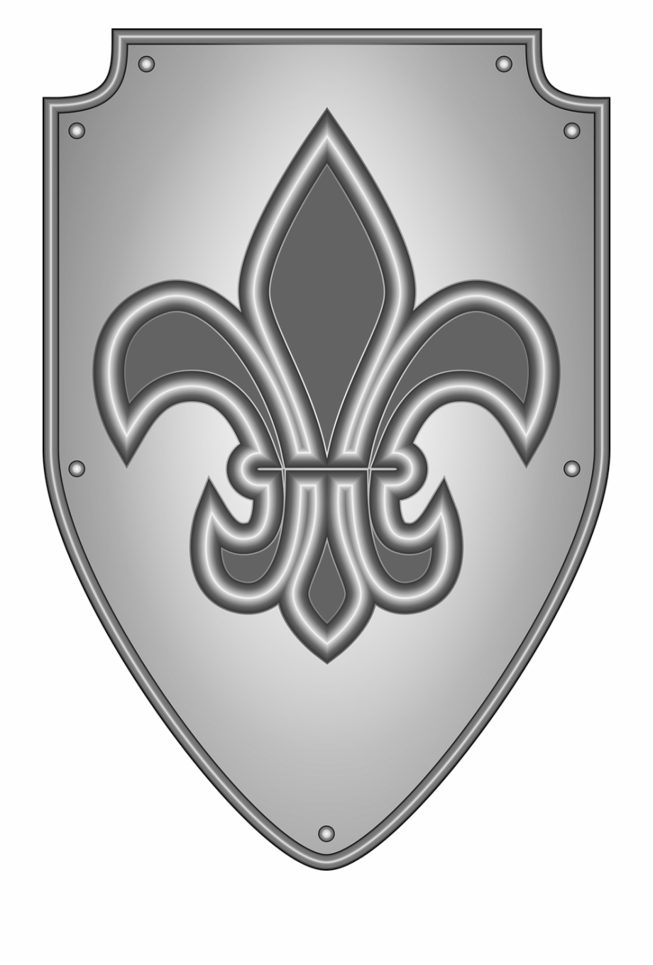 Arm in armor with dagger crest clipart transparent banner black and white library Heraldry Knight Medieval Shield Png Image - Medieval Shield Clipart ... banner black and white library