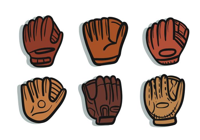 Arm in softball glove clipart clip art library stock Softball glove vector - Download Free Vector Art, Stock Graphics ... clip art library stock