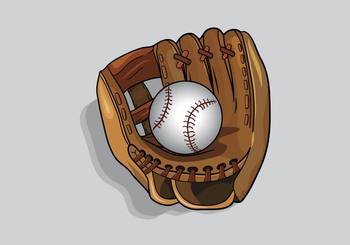 Arm in softball glove clipart png library library Softball Glove Vector - Download Free Vector Art, Stock Graphics ... png library library