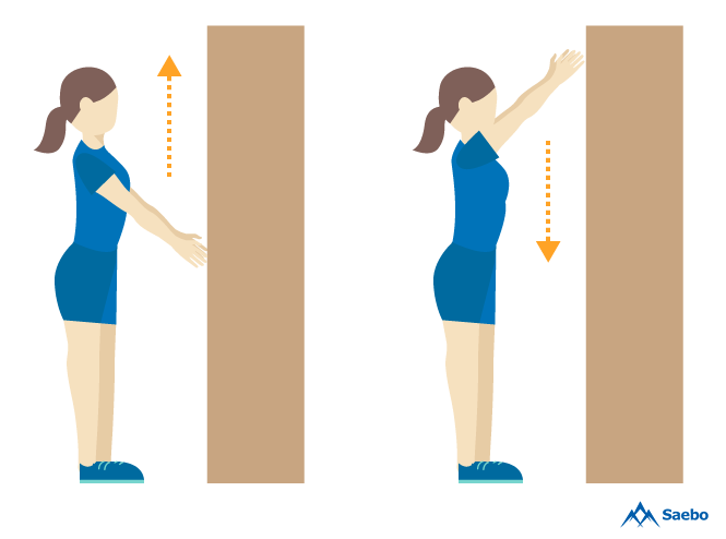 Arm stretch on wall clipart clipart free library At Home Arm Exercises For Stroke Recovery Patients clipart free library