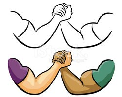 Clipart arm wrestling clipart black and white library Arm Wrestle Clipart stock vectors - Clipart.me clipart black and white library