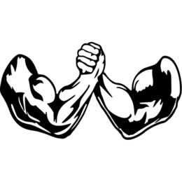Arm wrestling clipart free jpg royalty free Arm Wrestling Drawing at PaintingValley.com   Explore collection of ... jpg royalty free