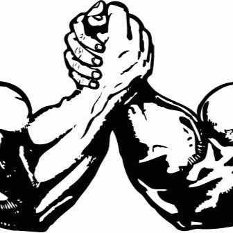 Arm wrestling logo clipart clipart download Arm Wrestling Drawing | Free download best Arm Wrestling Drawing on ... clipart download