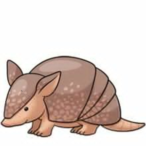 Armadillo vector clipart royalty free library Cute Armadillo Clipart | Free Images at Clker.com - vector clip art ... royalty free library
