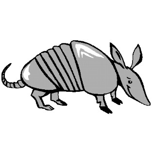 Armadillo images clipart svg transparent stock Free Armadillo Clipart, Download Free Clip Art, Free Clip Art on ... svg transparent stock