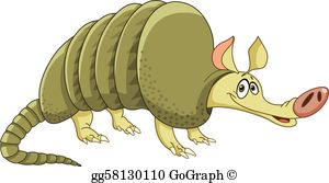 Armadillo images clipart image freeuse stock Armadillo Clip Art - Royalty Free - GoGraph image freeuse stock
