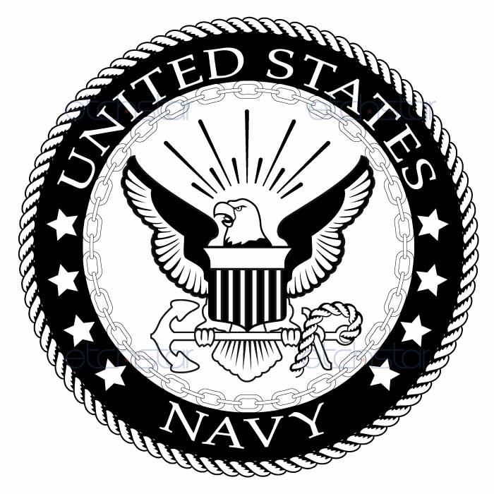 Army logo clipart free jpg black and white stock Armed Forces Seals Clipart & Free Clip Art Images #15372 ... jpg black and white stock
