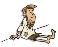 Armer mann clipart. Cartoon premium clipartlogo com