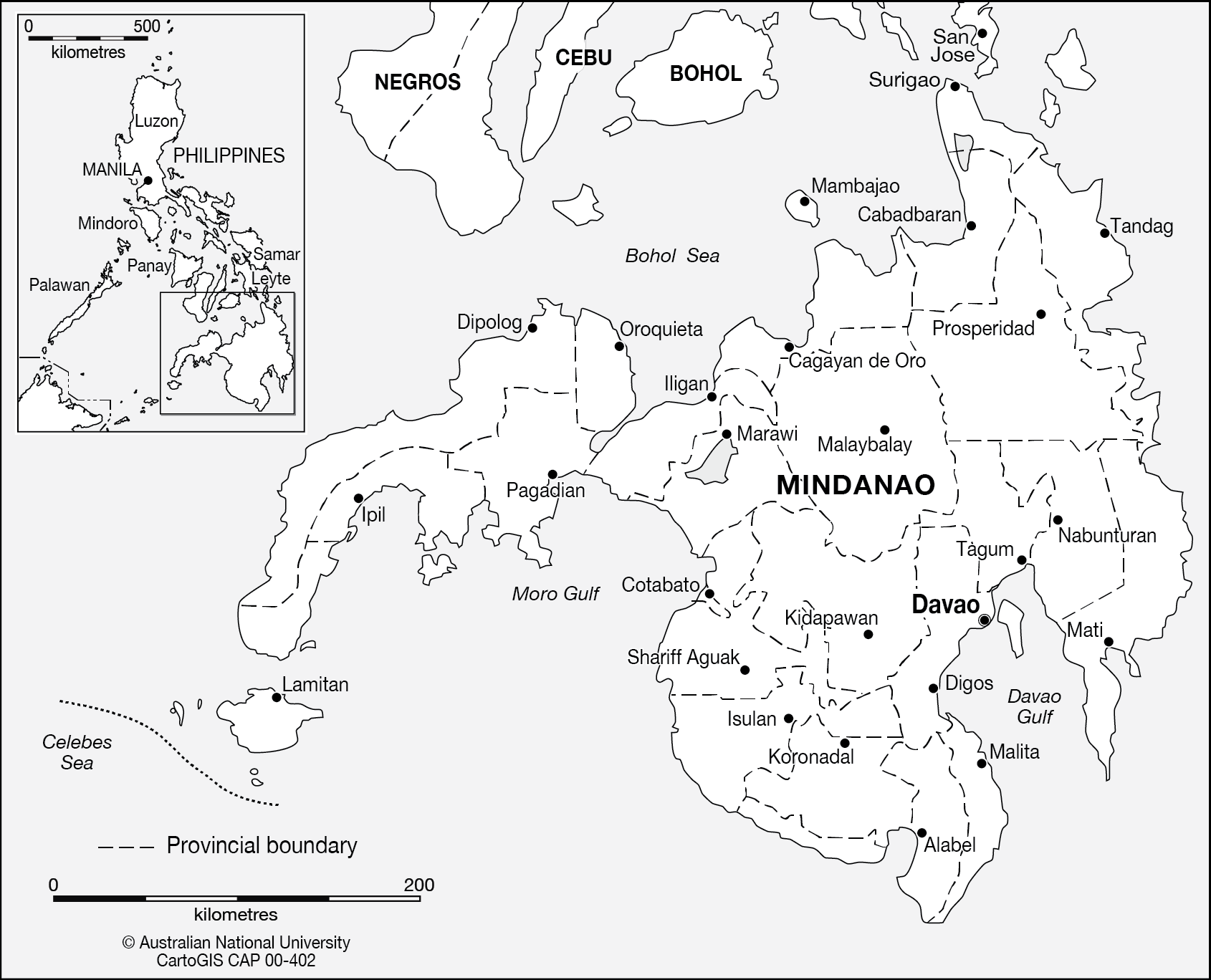 Armm map clipart black and white clip royalty free download Mindanao Map (104+ images in Collection) Page 1 clip royalty free download