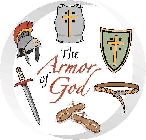 breastplate of righteousness clipart - Google Search | Armour of God ... jpg black and white library