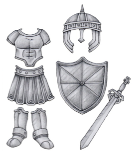 Taking Up the Whole Armor of God | clip art free stock