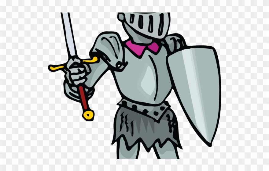 Knight cartoon clipart free download Knight Clipart Armored Knight - Knights Cartoon Clipart Transparent ... free download
