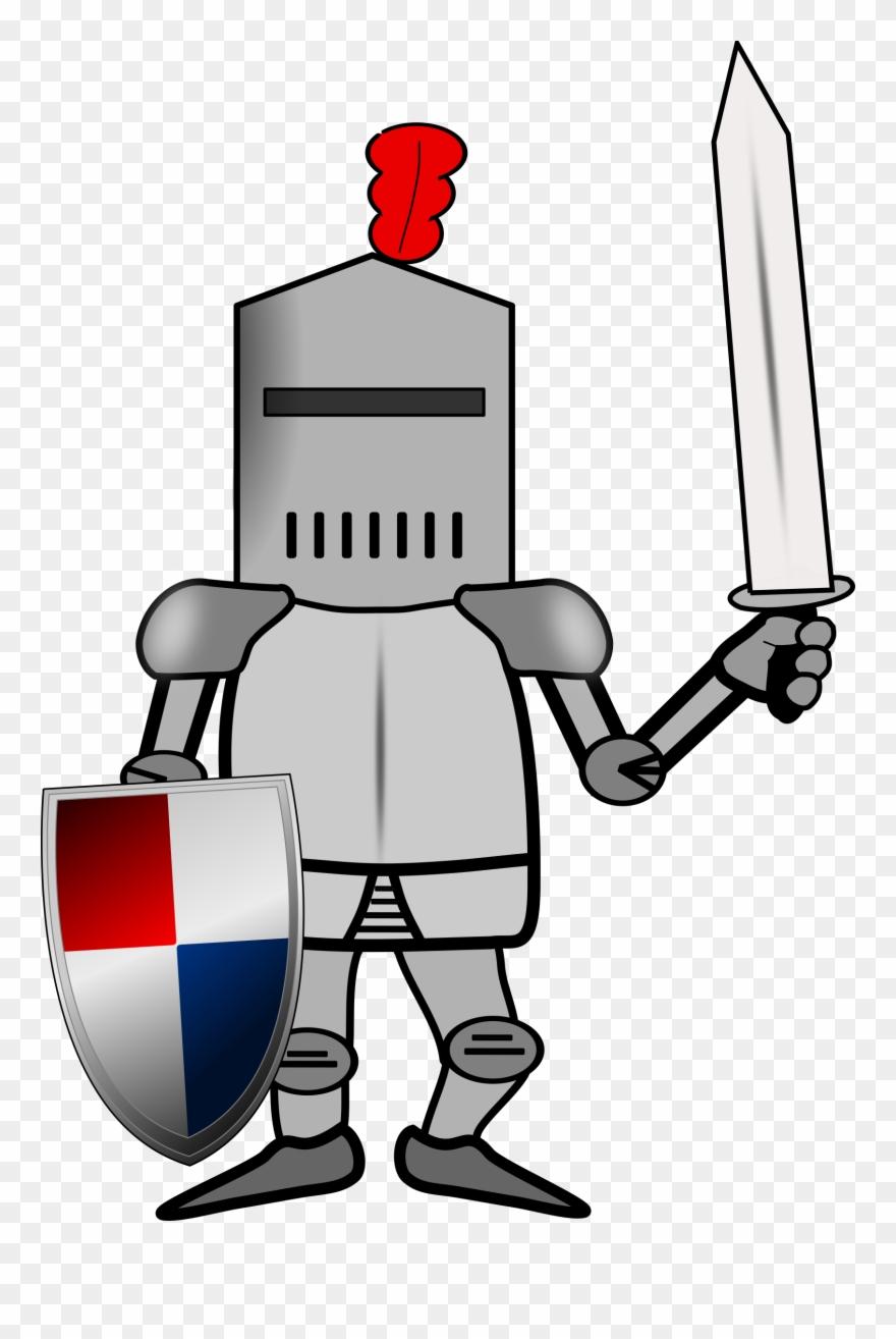 Knight cartoon clipart banner library stock Big Image - Knight Armor Cartoon Clipart (#287176) - PinClipart banner library stock