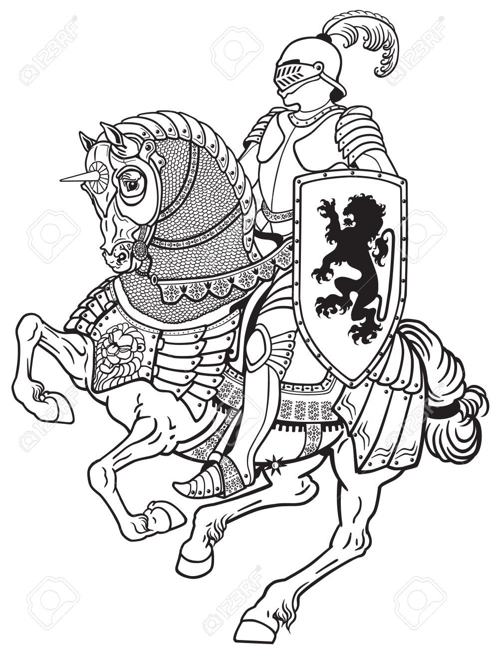 Armored hand clipart clipart stock Stock Vector | war horse | Knight drawing, Medieval knight, Knight ... clipart stock