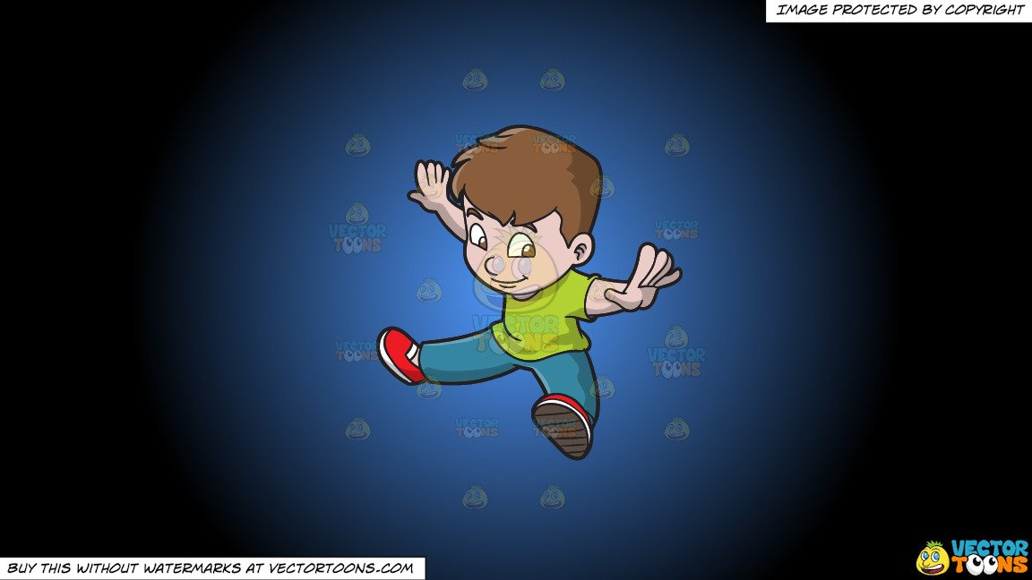 Arms and legs spread out clipart transparent download Clipart: A Boy Doing Oops Upside Your Head on a Blue And Black Gradient  Background transparent download