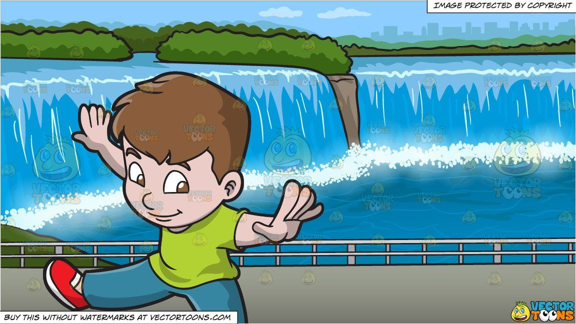 Arms and legs spread out clipart clipart library download A Boy Doing Oops Upside Your Head and Niagara Falls Background in ... clipart library download