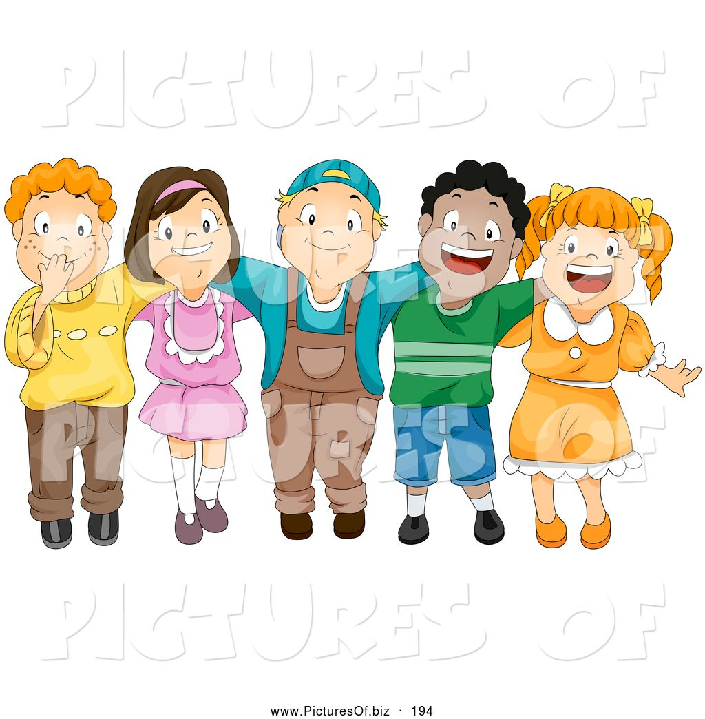 Arms around each other clipart clip art Cartoon arm around each other | Children With Their... | Cartoon ... clip art