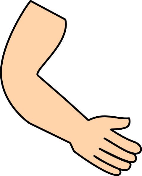 Arms full clipart
