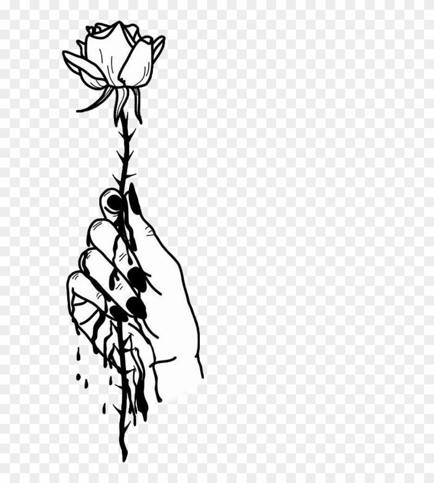 Arms full of flowers clipart