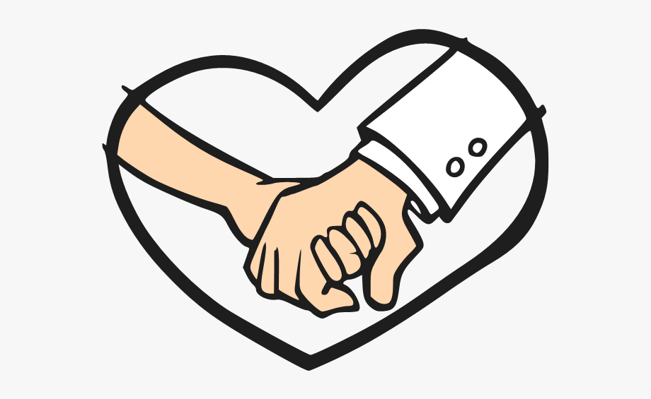 Holding on clipart