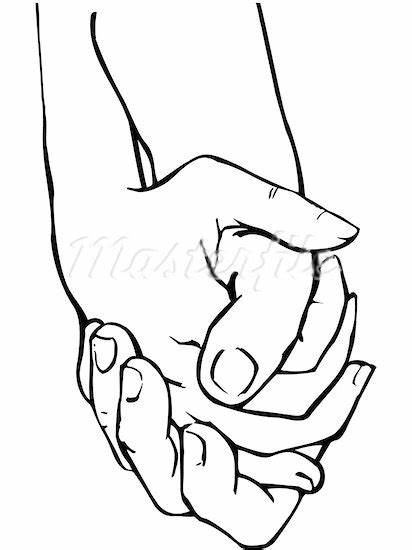 Clipart of hands holding picture stock Two Hands Sketch at PaintingValley.com | Explore collection of Two ... picture stock