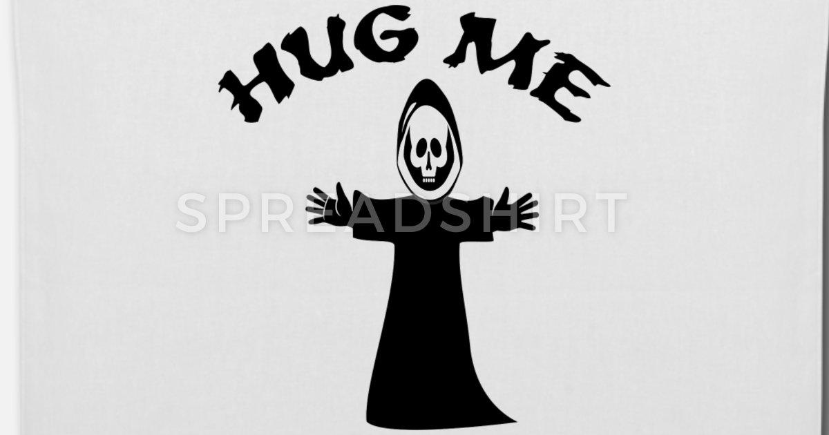 Arms hugging grocery sack clipart graphic royalty free Hug me death hug Tote Bag | Spreadshirt graphic royalty free