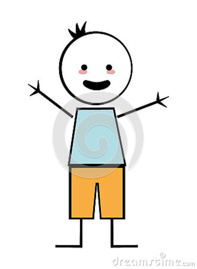 Arms open clipart stock Download stick figure boy arms open clipart Clip art | Illustration ... stock