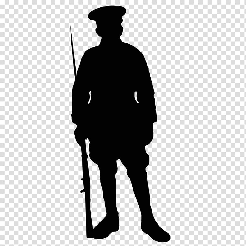 Army and daughter clipart png freeuse library First World War Soldier Silhouette Army, soldiers transparent ... png freeuse library